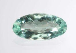 Faceted phosphophyllite, 10.22 cts - Bolivia